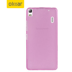 FlexiShield Lenovo A7000 Gel Case - Pink