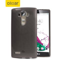 FlexiShield LG G4 Gel Case - Smoke Black
