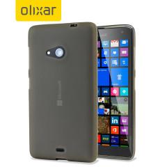 FlexiShield Microsoft Lumia 535 Case - Smoke Black