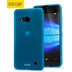 FlexiShield Microsoft Lumia 550 Gel Case - Blue