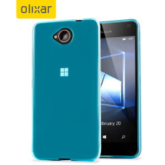 FlexiShield Microsoft Lumia 650 Gel Case - Blue
