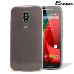 Flexishield Moto G 2nd Gen Case - Smoke Black
