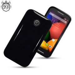 FlexiShield Motorola Moto E Case - Black