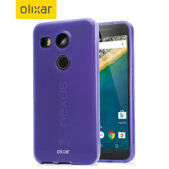 FlexiShield Nexus 5X Gel Case - Purple
