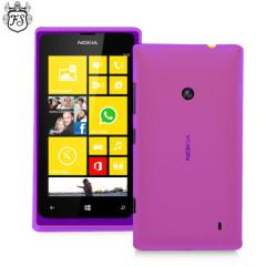 FlexiShield Nokia Lumia 525 / 520 Gel Case  - Purple