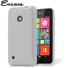 Flexishield Nokia Lumia 530 Gel Case - Frost White