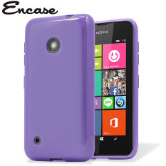 Flexishield Nokia Lumia 530 Gel Case - Purple