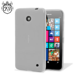 Flexishield Nokia Lumia 630 / 635 Gel Case - Frost white