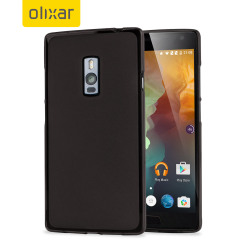 FlexiShield OnePlus 2 Case - Smoke Black