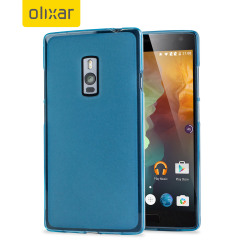FlexiShield OnePlus 2 Gel Case - Blue