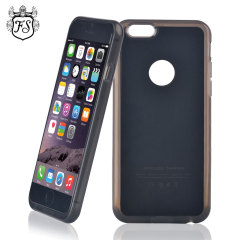 FlexiShield Qi iPhone 6 Plus Wireless Charging Case - Black