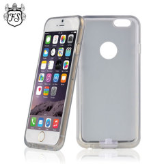 FlexiShield Qi iPhone 6 Plus Wireless Charging Case - White