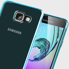 FlexiShield Samsung Galaxy A3 2016 Gel Case - Blue