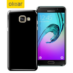 FlexiShield Samsung Galaxy A5 2016 Gel Case - Solid Black
