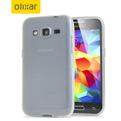 FlexiShield Samsung Galaxy Core Prime Case - Frost White