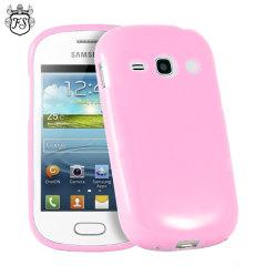 FlexiShield Samsung Galaxy Fame Gel Case - Pink