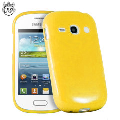 FlexiShield Samsung Galaxy Fame Gel Case - Yellow