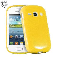 FlexiShield Samsung Galaxy Fame Gel Case - Yellow