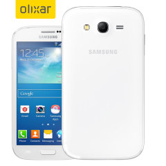 FlexiShield Samsung Galaxy Grand Case - Frost White