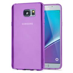 FlexiShield Samsung Galaxy Note 5 Gel Case - Purple