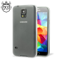 FlexiShield Samsung Galaxy S5 Case - Frost White