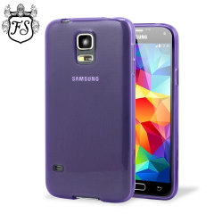 Flexishield Samsung Galaxy S5 Mini Case - Purple