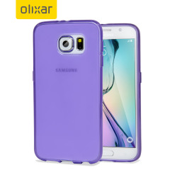 FlexiShield Samsung Galaxy S6 Gel Case - Purple