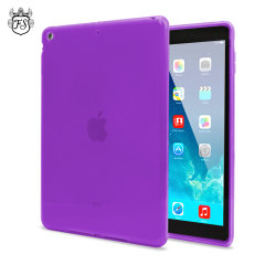 FlexiShield Skin Case for iPad Air - Purple