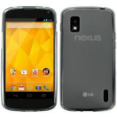 FlexiShield Skin For Google LG Nexus 4  - Smoke