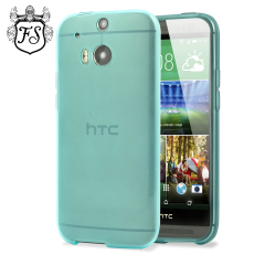 FlexiShield Skin for HTC One M8 - Light Blue