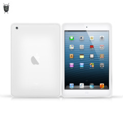 FlexiShield Skin for iPad Mini 2 / iPad Mini - Frost White