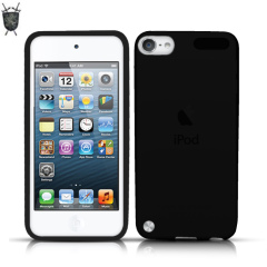 FlexiShield Skin For iPod Touch 5G - Black