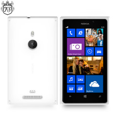 FlexiShield Skin for Nokia Lumia 925 - Frost White