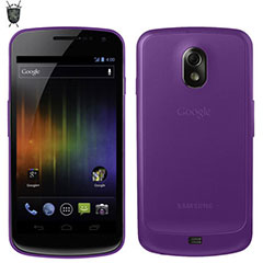 FlexiShield Skin For Samsung Galaxy Nexus - Purple
