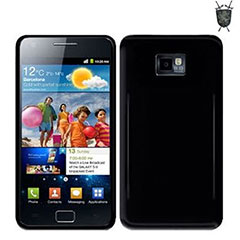 FlexiShield Skin For Samsung Galaxy S2 i9100 - Solid Black