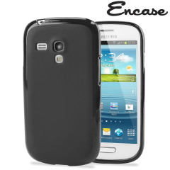 FlexiShield Skin For Samsung Galaxy S3 Mini - Smoke Black