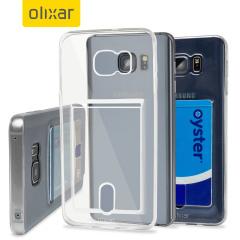 FlexiShield Slot Samsung Galaxy Note 5 Gel Case - Crystal Clear