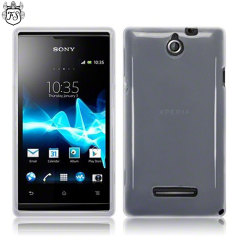 Flexishield Sony Xperia E Case - Frost White