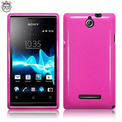 Flexishield Sony Xperia E Case - Pink