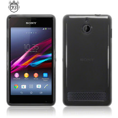 FlexiShield Sony Xperia E1 Case - Smoke Black