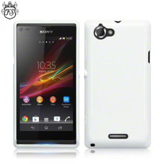 Flexishield Sony Xperia L Case  - White