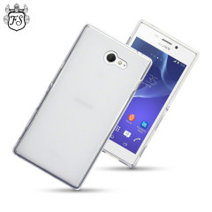Flexishield Sony Xperia M2 Gel Case - Frost White
