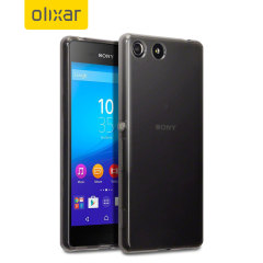 FlexiShield Sony Xperia M5 Gel Case - Smoke Black