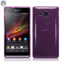 Flexishield Sony Xperia SP Case - Purple