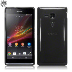 Flexishield Sony Xperia SP Case - Smoke Black