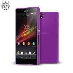 Flexishield Sony Xperia Z Case - Purple