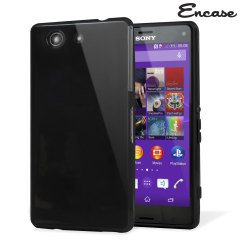 FlexiShield Sony Xperia Z3 Compact Gel Case - Solid Black