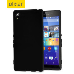 FlexiShield Sony Xperia Z3+ Gel Case - Black