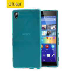 FlexiShield Sony Xperia Z3+ Gel Case - Blue