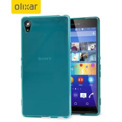 FlexiShield Sony Xperia Z3+ Gel Case - Blue